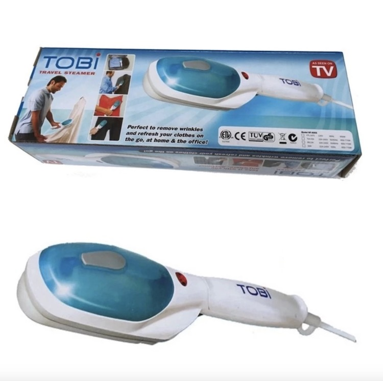 Bàn ủi hơi nước cầm tay loại nào tốt nhất, Bàn là hơi nước cầm tay Tobi là một trong những thương hiệu điện tử uy tín đến từ Mỹ