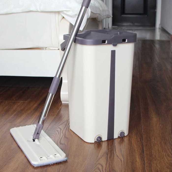 Thiết kế cây lau nhà tự vắt hiện đại, tiết kiệm công sức khi lau nhà, cây lau nhà thông minh nào tốt nhất