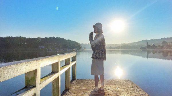 Chia sẻ kinh nghiệm đi Đà Lạt một mình 3 ngày 2 đêm chỉ với 1 triệu 2 - Hồ Xuân Hương