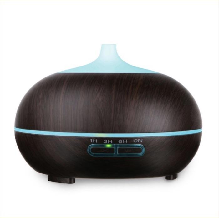 Máy xông tinh dầu nào tốt nhất hiện nay - Máy khuếch tán tinh dầu giọt nước 500ml cao cấp Aroma