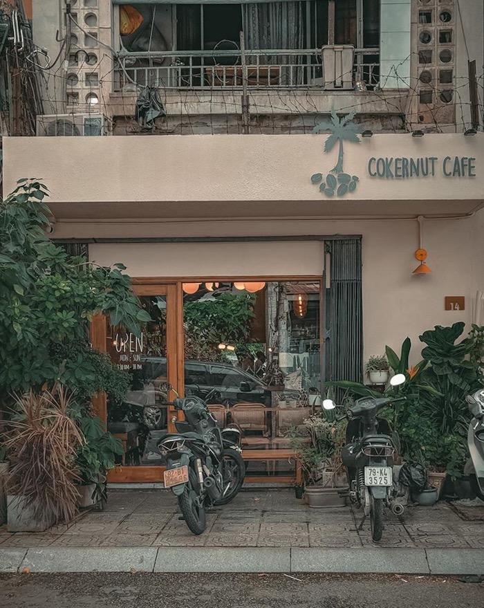 Cokernut Cafe - Quán cafe ở quận 1 yên tĩnh, thích hợp cho những ngày làm việc 1