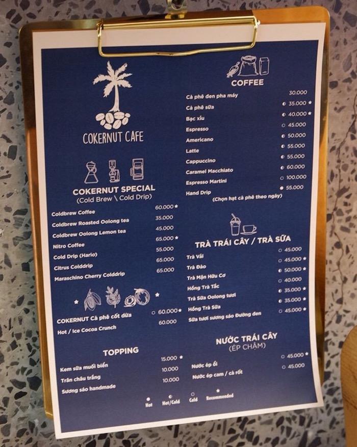 Cokernut Cafe - Quán cafe ở quận 1 yên tĩnh, thích hợp cho những ngày làm việc 4