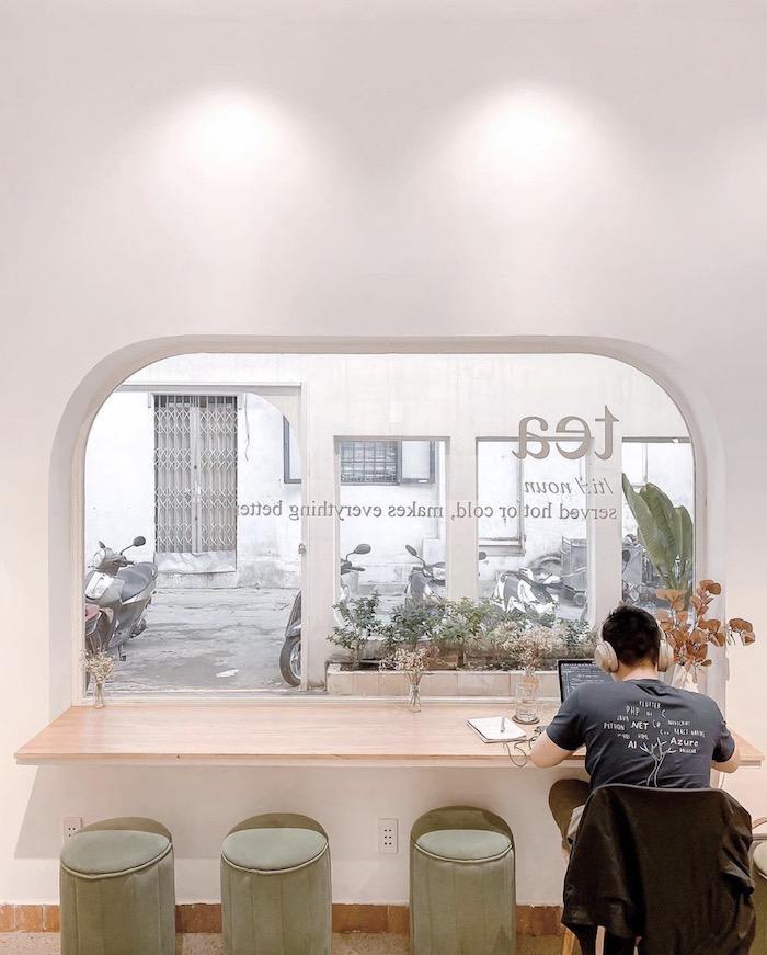 Bagua House - Quán cafe ở quận 3 yên tĩnh, nhẹ nhàng với style trắng tinh xinh xắn đón nắng vàng 1