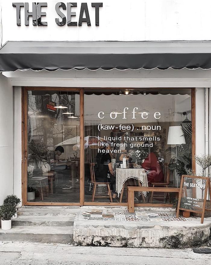 The Seat - Quán cafe ở quận 3 có siêu nhiều góc đẹp