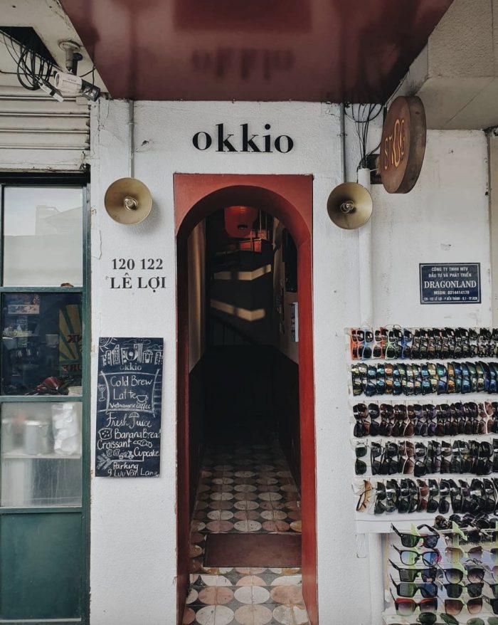 Okkio Caffe - Quán Cafe ở quận 1 yên tĩnh giữa Sài Gòn tấp nập 1