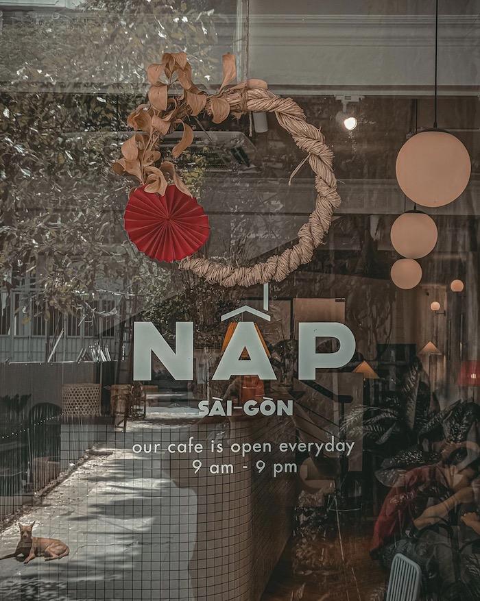 Nấp Coffee - quán cafe ở quận 1 bình yên giữa lòng thành phố nhộn nhịp.