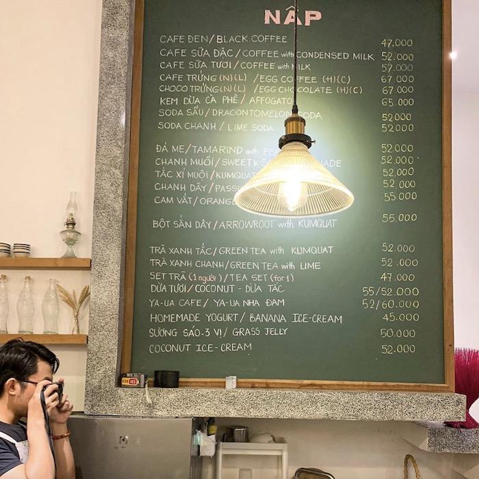 Nấp Coffee - quán cafe ở quận 1 bình yên giữa lòng thành phố nhộn nhịp 6