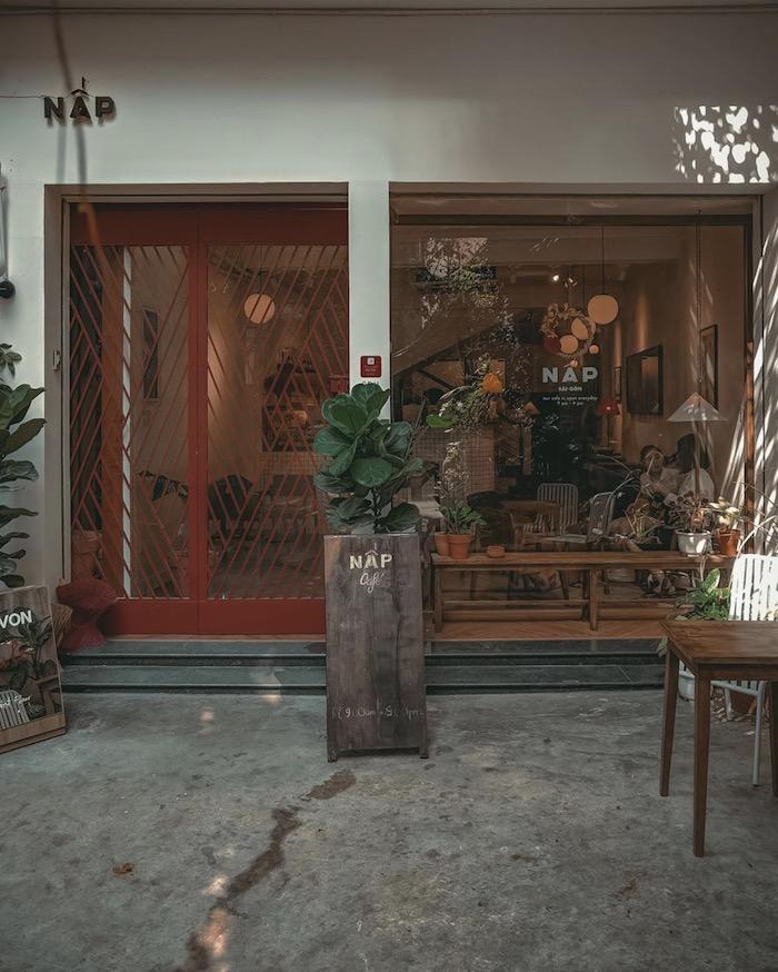 Nấp Coffee - quán cafe ở quận 1 bình yên giữa lòng thành phố nhộn nhịp 3