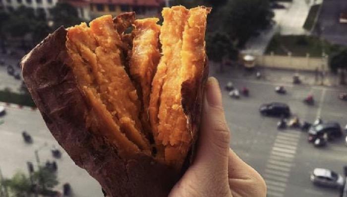 Khoai mật nướng Đà Lạt: Thơm ngon, ngọt lịm