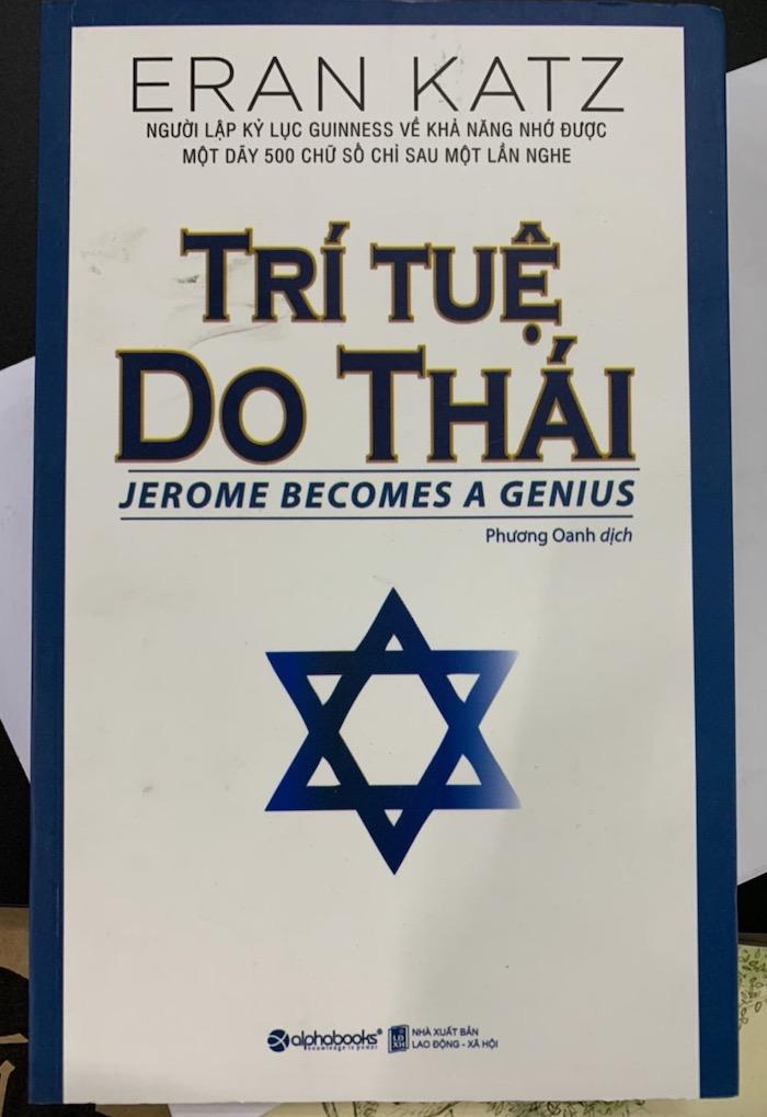 Giới thiệu sách Trí Tuệ Do Thái - Jerome becomes a genius - Eran Katz