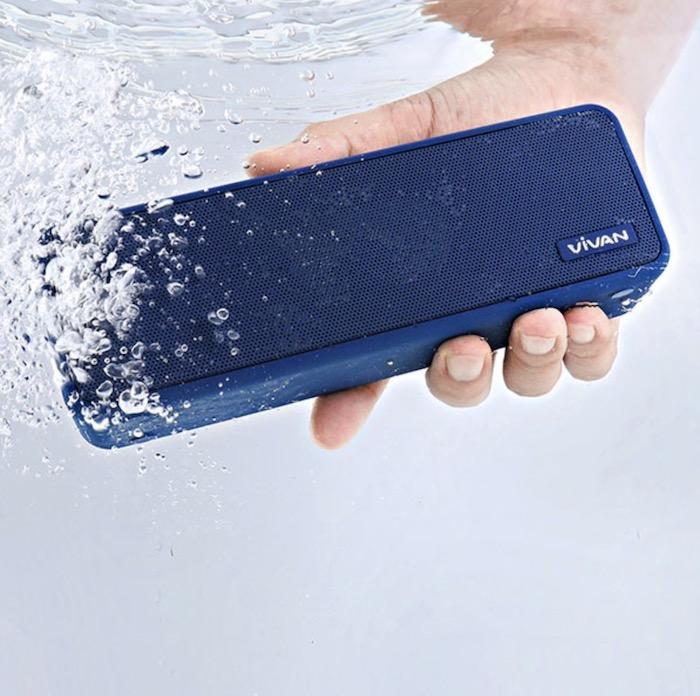 Loa Bluetooth VIVAN VS20 - Top 10 loa bluetooth giá dưới 1 triệu đồng nghe nhạc chất lượng