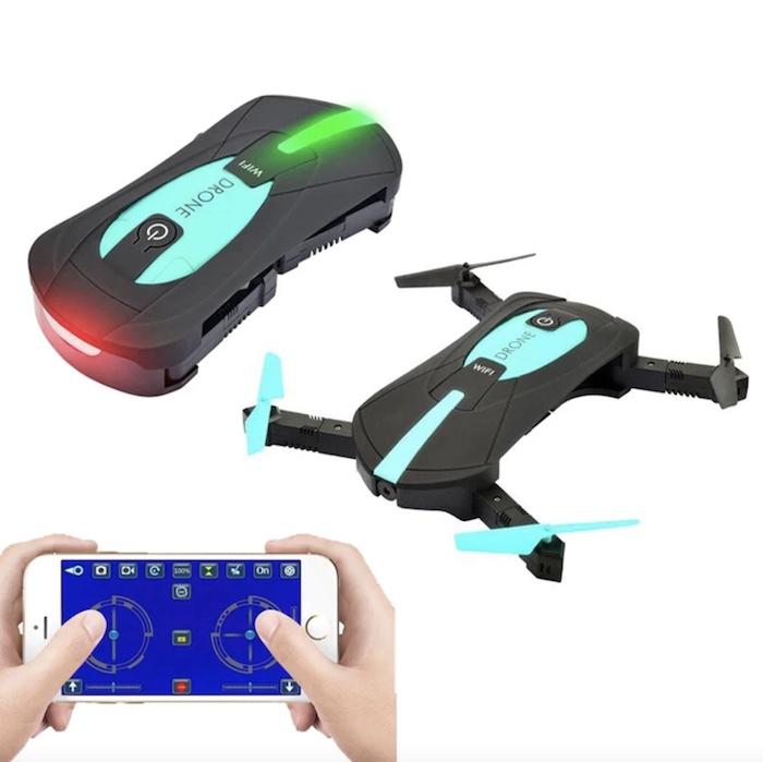 JY018 Mini Foldable RC Pocket Selfie Drone - Flycam giá rẻ chất lượng