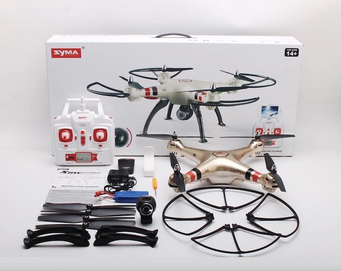 Syma Drone X8HW - Flycam tốt nhất trong phân khúc giá rẻ