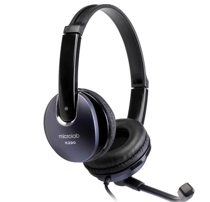 Tai nghe chụp tai chất lượng giá rẻ Microlab K 290
