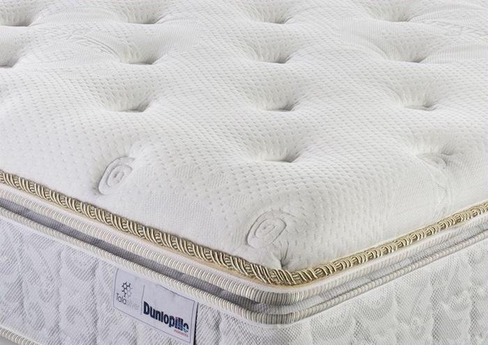 Đệm lò xo với thiết kế với hệ thống lò xo cao cấp, đệm mút cao cấp giúp tạo sự thoải mái khi nằm