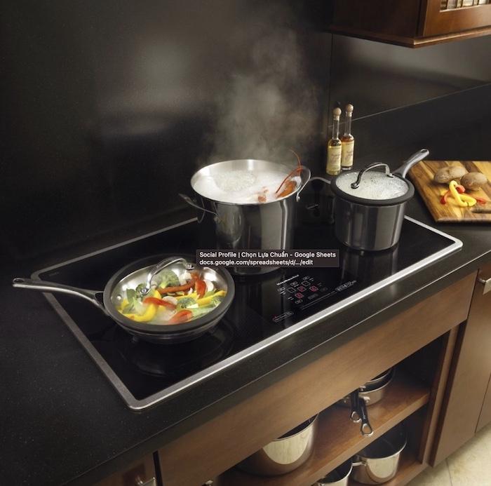 Bếp điện từ hạng trung có giá trên 1 triệu