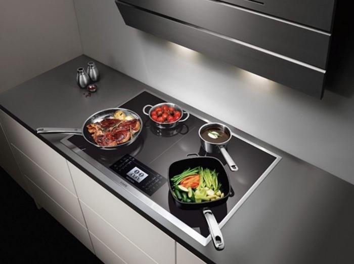 Các loại bếp từ phân loại theo vị trí lắp đặt
