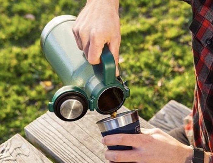 Bình giữ nhiệt được chế tạo nhằm trữ thực phẩm, đồ uống nóng hoặc lạnh ở mức nhiệt mong muốn
