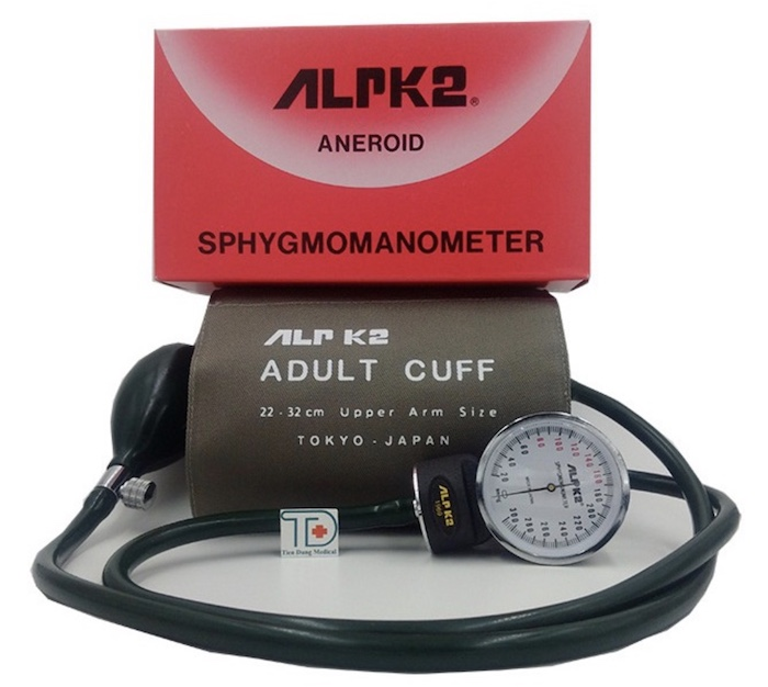 Bộ đo huyết áp cơ ALPK2 – Nhật Bản