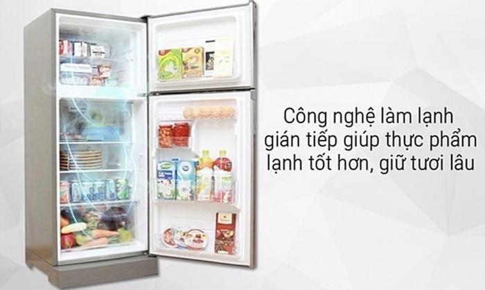 Công nghệ làm lạnh gián tiếp của tủ lạnh Toshiba