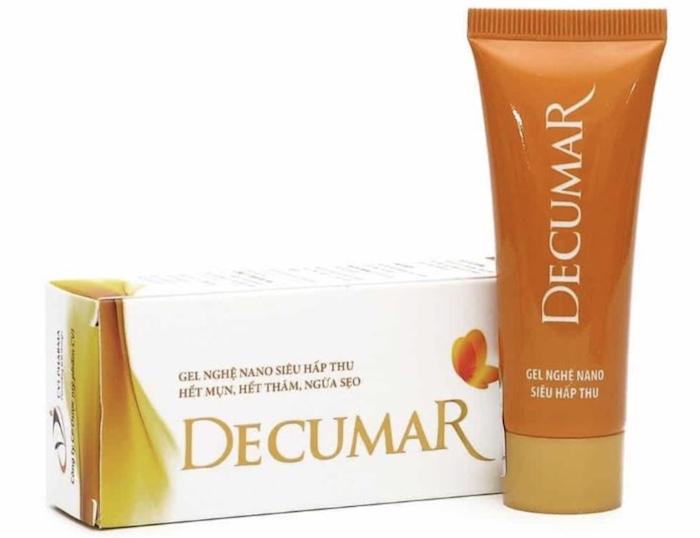 Kem trị mụn Decumar là sản phẩm kem trị mụn đầu tiên tại Việt Nam