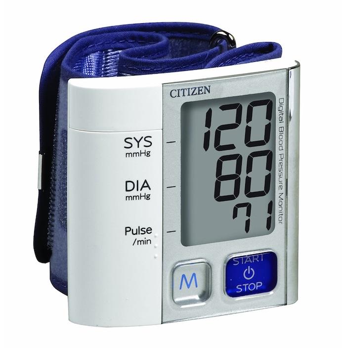 Máy đo huyết áp cổ tay Citizen CH – 657