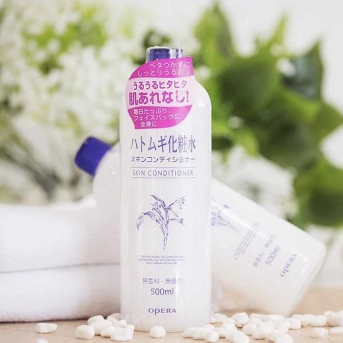 REVIEW nước cân bằng Naturie Hatomugi Skin Conditioner