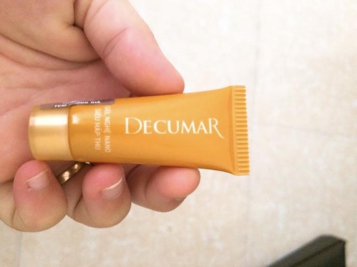 Thành phần chính của kem trị mụn Decumar đến từ thiên nhiên