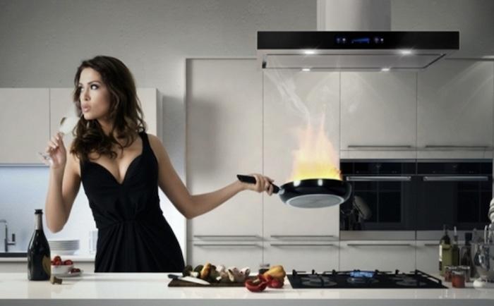 Xác định nhu cầu sử dụng máy khử mùi bếp