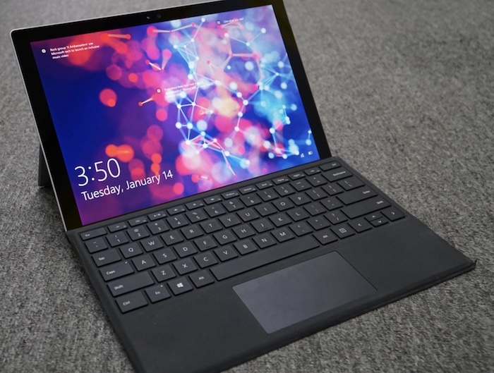 Microsoft Surface Pro 4 có thiết kế cao cấp, sang trọng
