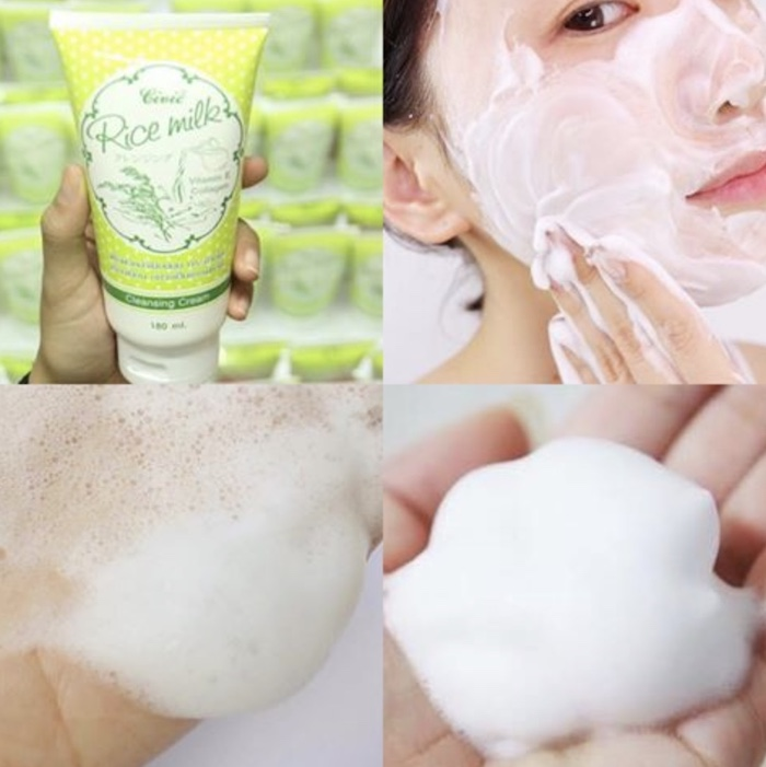 Civic Rice Milk Cleansing Cream đem lại cho mình cảm giác thoải mái, thư giãn khi sử dụng