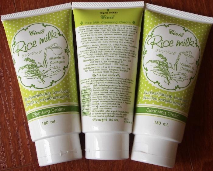 Review sữa rửa mặt Civic Rice Milk Cleansing Cream chi tiết