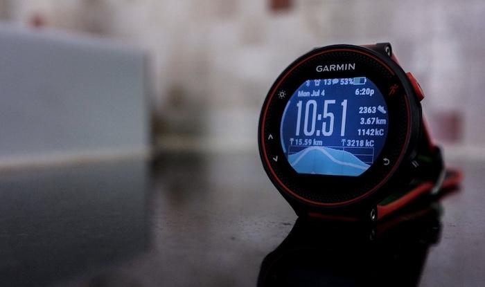 Đồng hồ Garmin Forerunner 235 có thời lượng pin rất tốt