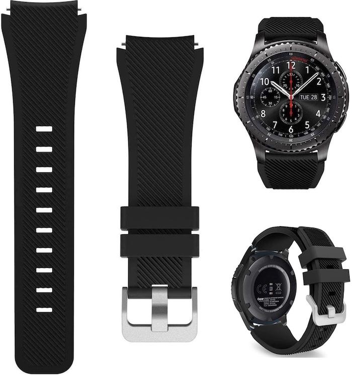 Đồng hồ Samsung Gear S3 Frontier có thiết kế sang trọng, đẳng cấp