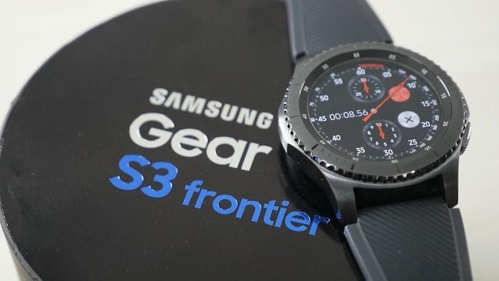 Review, đánh giá đồng hồ Samsung Gear S3 Frontier chi tiết