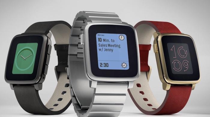 Đồng hồ Pebble Watch có thiết kế đơn giản