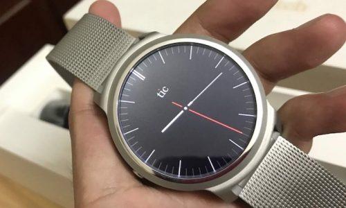 Review, đánh giá đồng hồ thông minh Ticwatch 1 chi tiết
