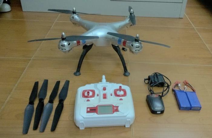 Flycam Syma X8C có nhiều tính năng hữu ích cho người dùng