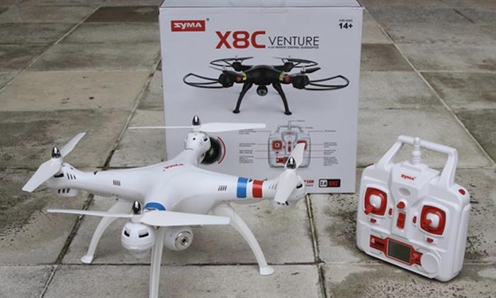 Review, đánh giá Flycam Syma X8C chi tiết
