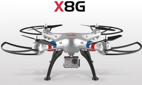 Review, đánh giá Flycam Syma X8G chi tiết