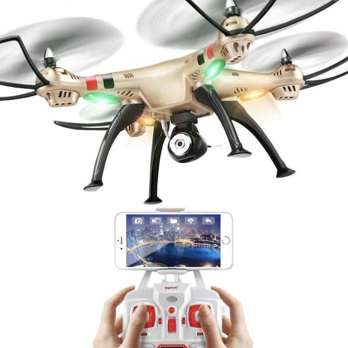 Chiếc Flycam Syma X8HW này được trang bị rất nhiều tính năng tân tiến