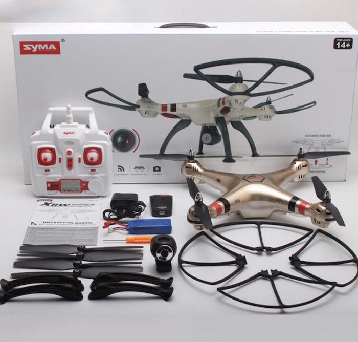 Flycam Syma X8HW là 1 sản phẩm được đánh giá tốt và rất đáng để trải nghiệm
