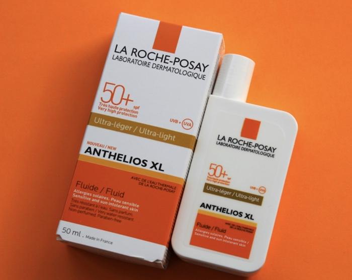 La Roche Posay Anthelios XL Fluide Ultra Light SPF 50+ | Kem chống nắng có công nghệ màn lọc mexoplex chuyên dùng cho da nhạy cảm