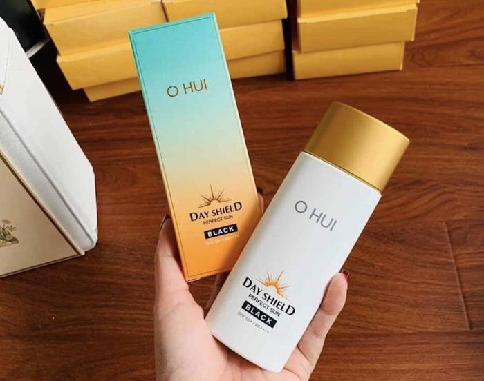 OHUI Perfect Sun Black | Dòng Sản Phẩm Chống Nắng Cao Cấp Đến Từ Hàn Quốc