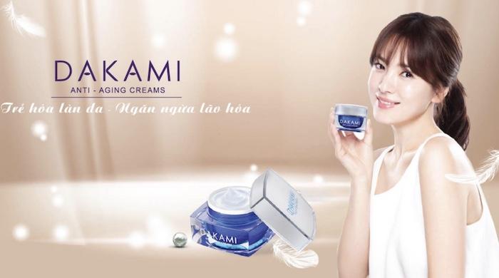 Kem dưỡng da Dakami là một sản phẩm có thành phần 100% làm từ thiên nhiên