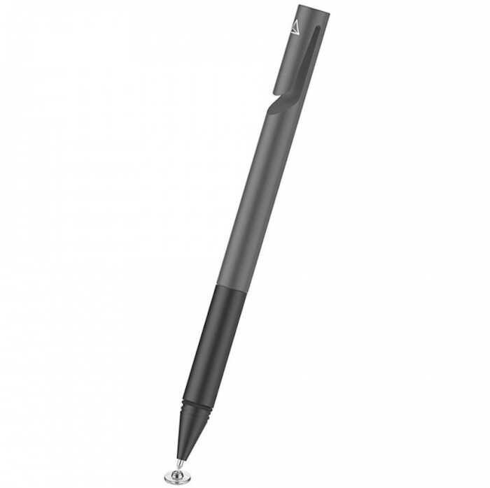 Bút cảm ứng Stylus Adonit Mini 4 - Đầu dĩa đệm với nét bút nhỏ, dùng trên đường đi