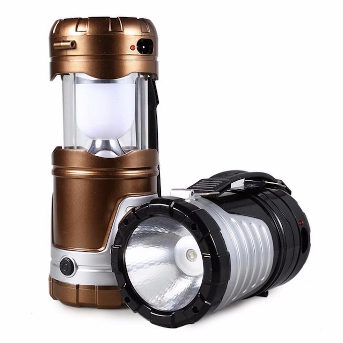 Đèn pin, đèn bão sạc năng lượng mặt trời C'MON POWER